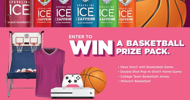 Sparkling Ice Game Sweepstakes