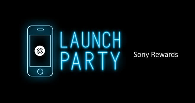 Sony Rewards Launch Party Instant Win Game