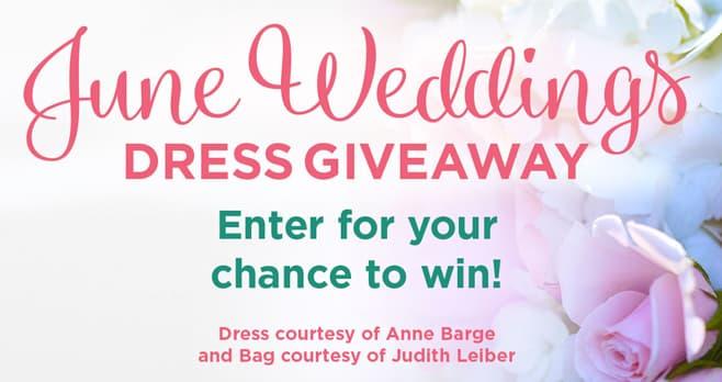 Hallmark Channel June Weddings Dress Giveaway