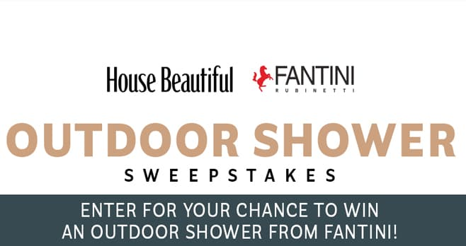 House Beautiful Outdoor Shower Sweepstakes