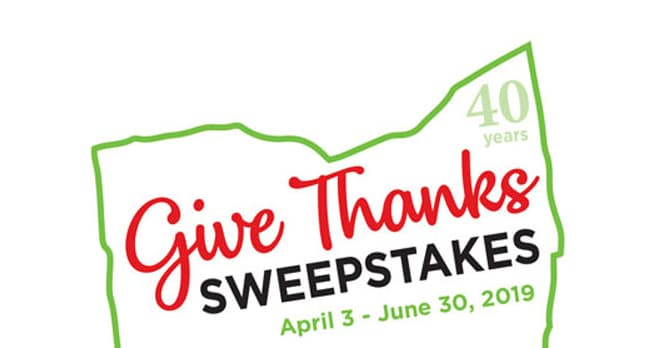 Marc's Give Thanks Sweepstakes