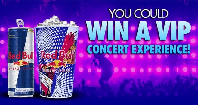 Red Bull VIP Music Sweepstakes (RedBullVIPMusic.com)