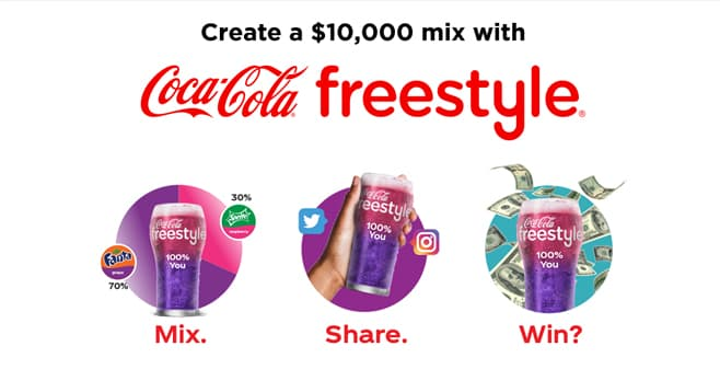 Coca-Cola Make Your Mix Contest