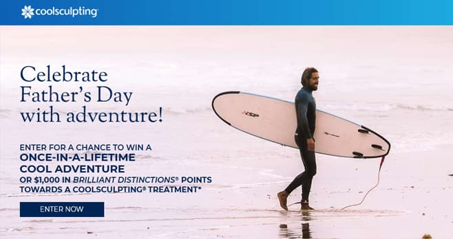 CoolSculpting Father's Day Sweepstakes