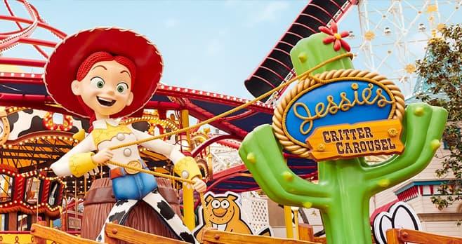 Disney Pixar Pier Rootin' Tootin' Sweepstakes