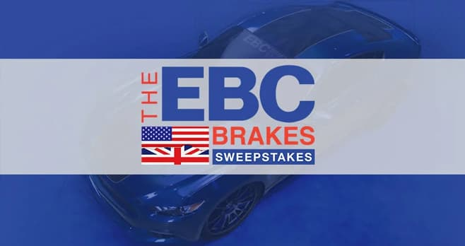 EBC Brakes Mustang Giveaway
