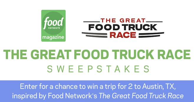Food Network Food Truck Sweepstakes