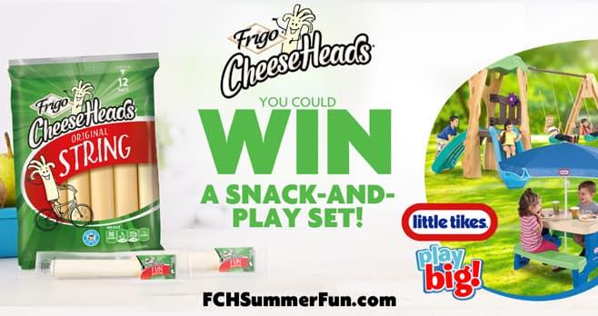 Frigo Cheese Heads Summer Fun Sweepstakes (FCHSummerFun.com)