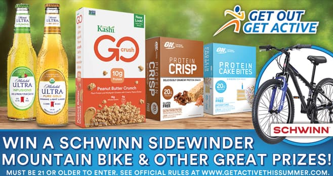 Get Active This Summer Sweepstakes