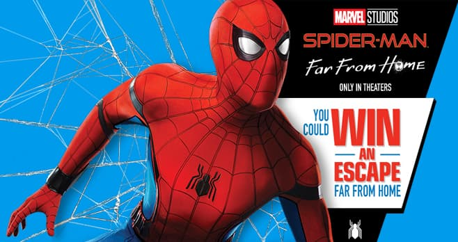 Kellogg's Spider-Man Far From Home Experience Sweepstakes (KelloggSpidermanExperienceSweeps.com)