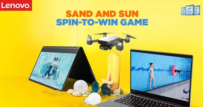 Lenovo Summer Instant Win