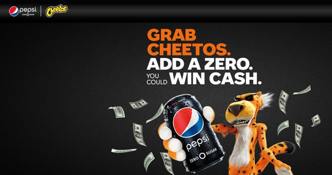 Pepsi And Cheetos Instant Win (PepsiAndCheetos.com)