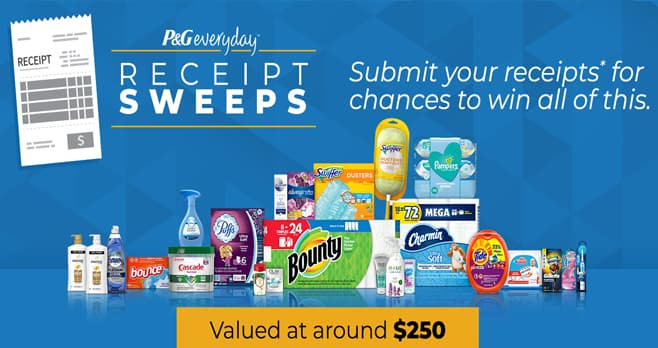 P&G Sweepstakes (PGSweepstakes.com)
