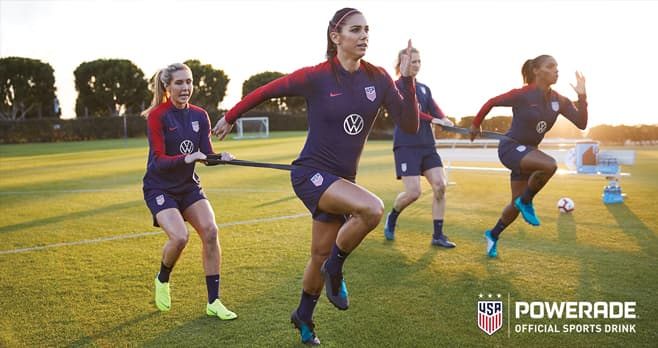 POWERADE & USWNT Sip & Scan Sweepstakes and Instant Win