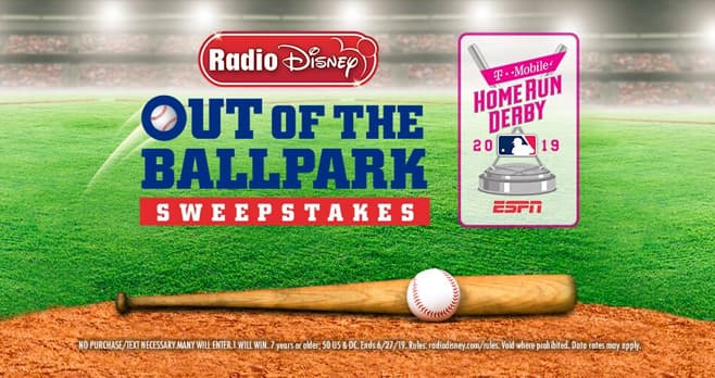 Radio Disney Out of the Ballpark Sweepstakes