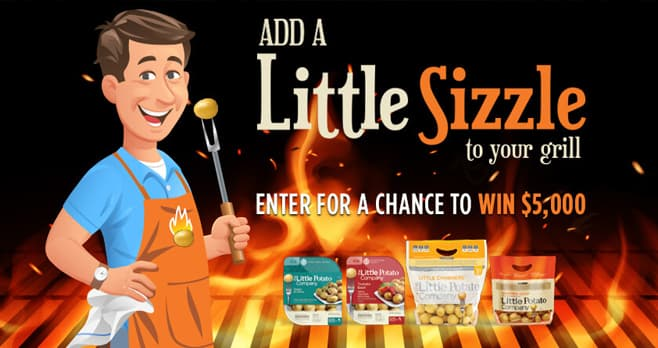 The Little Potato Company Add a Little Sizzle to Your Grill Sweepstakes