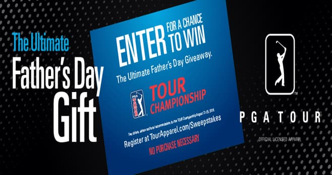 PGA TOUR Ultimate Father's Day Giveaway (TourApparel.com/Sweepstakes)