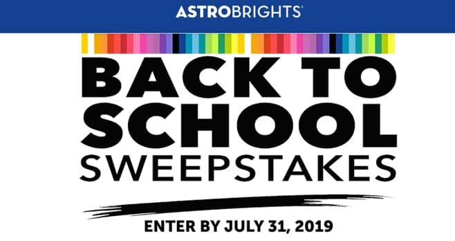 Astrobrights BTS Sweepstakes (Astrobrights.com/BTSSweepstakes)