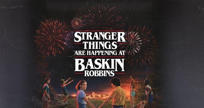 Baskin-Robbins Stranger Things Sweepstakes