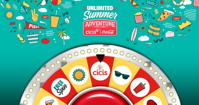 Cicis Unlimited Summer Adventure Sweepstakes