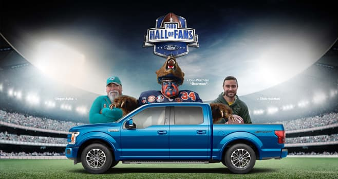 Ford Hall Of Fans Football Sweepstakes