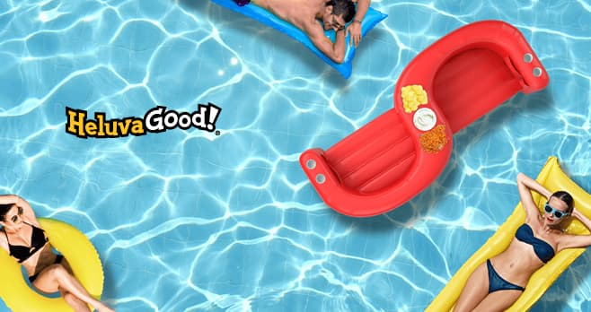 Heluva Good Pool Float Giveaway