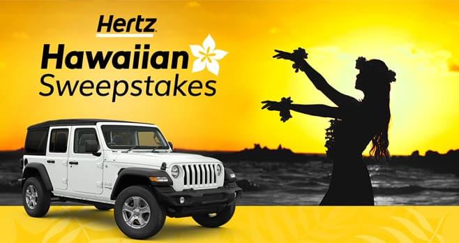 Hertz Hawaiian Sweepstakes