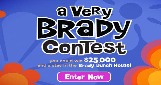 hgtv sweepstakes 2019 hgtv a very brady contest hgtv com brady 4732