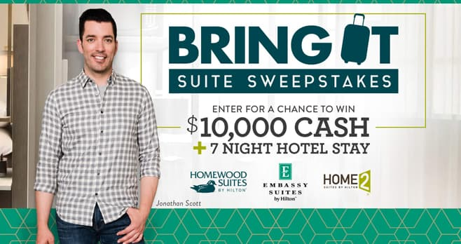 HGTV Bring It Suite Sweepstakes (HGTV.com/BringIt)