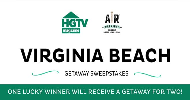 HGTV Virginia Beach Sweepstakes (HGTV.com/VirginiaBeach)