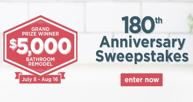Kirk's Soap 180th Anniversary Sweepstakes