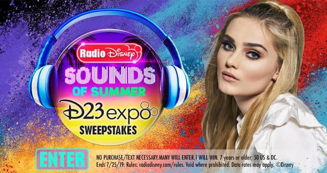 Radio Disney Sounds of Summer D23 Expo Sweepstakes