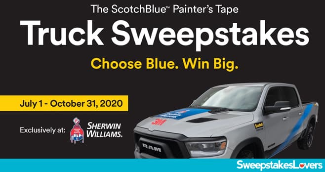 ScotchBlue Pro Painter Sweepstakes 2020