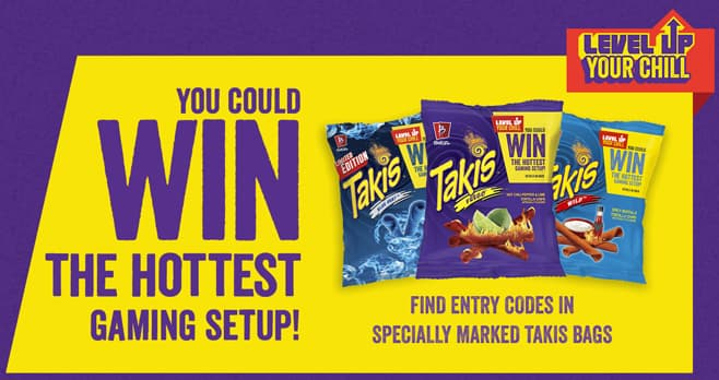 Takis Chips Level Up Your Chill Sweepstakes