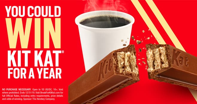 Break For Kit Kat Sweepstakes