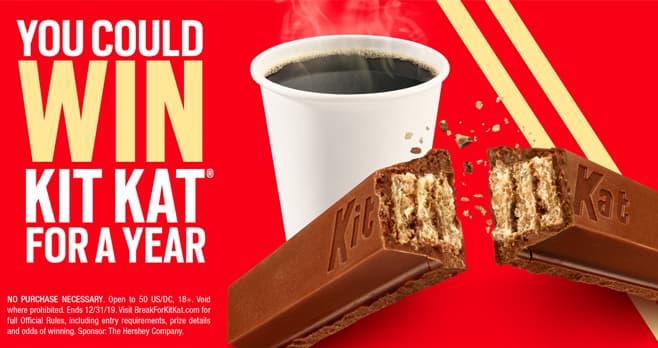 Break For Kit Kat Sweepstakes