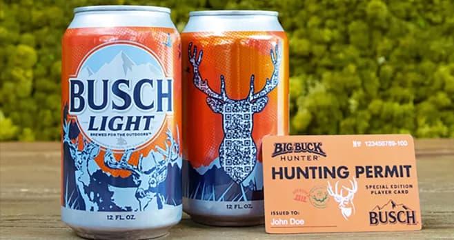 Busch Beer & Big Buck Hunter Great White Buck Challenge Sweepstakes