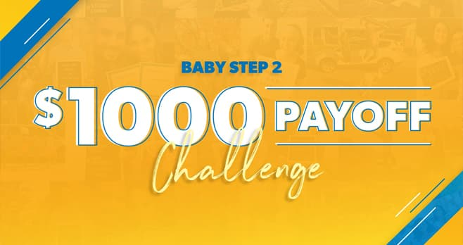 Dave Ramsey $1,000 Payoff Challenge