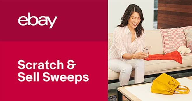 eBay Scratch & Sell Sweepstakes