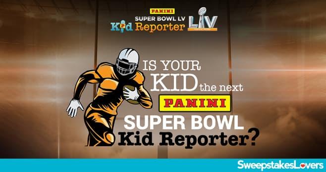 Panini Super Bowl Kid Reporter Sweepstakes 2020