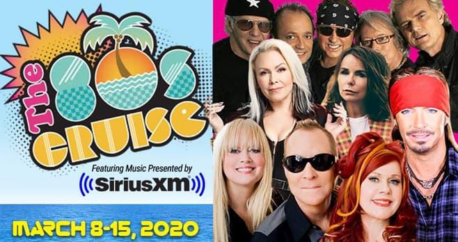 SiriusXM 80s Cruise 2020 Sweepstakes