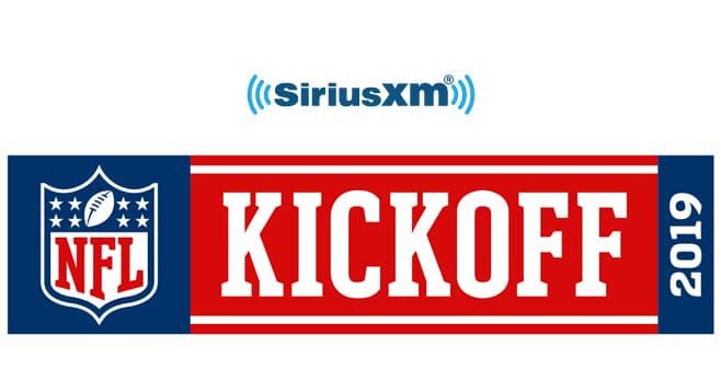SiriusXM 2019 NFL Kickoff Sweepstakes