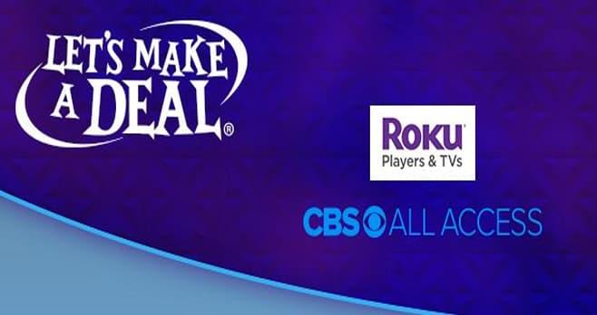 CBS Let's Make A Deal Contest (CBS.com/Deal)