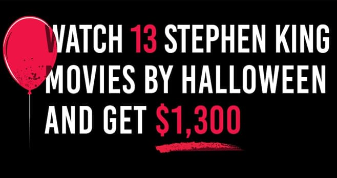 Dish Stephen King Movie Contest