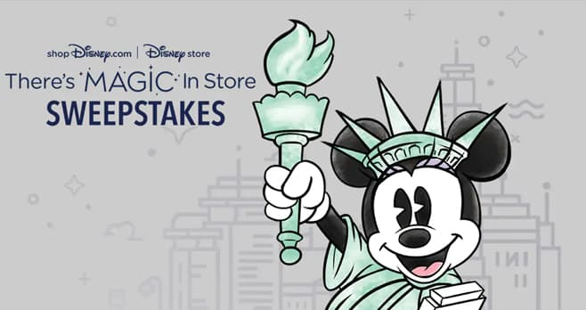 Disney There's Magic in Store Sweepstakes