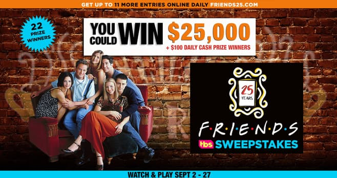Friends25 Sweepstakes (Friends25.com)