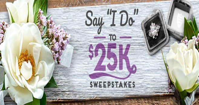 HGTV Say I Do To $25K Sweepstakes (HGTV.com/Wedding)