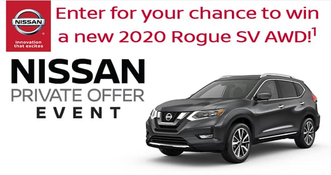 Nissan Sweepstakes 2019 (NissanSweeps.com)