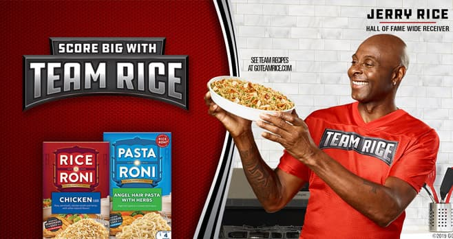 Rice-A-Roni Go Team Rice Instant Win Game