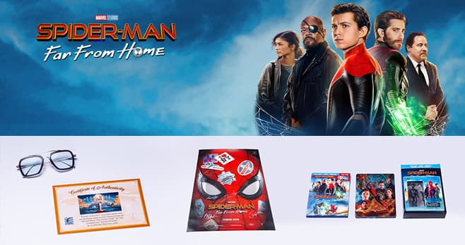 Spider Man Far From Home Sweepstakes (Spider-ManFarFromHomeSweeps.com)